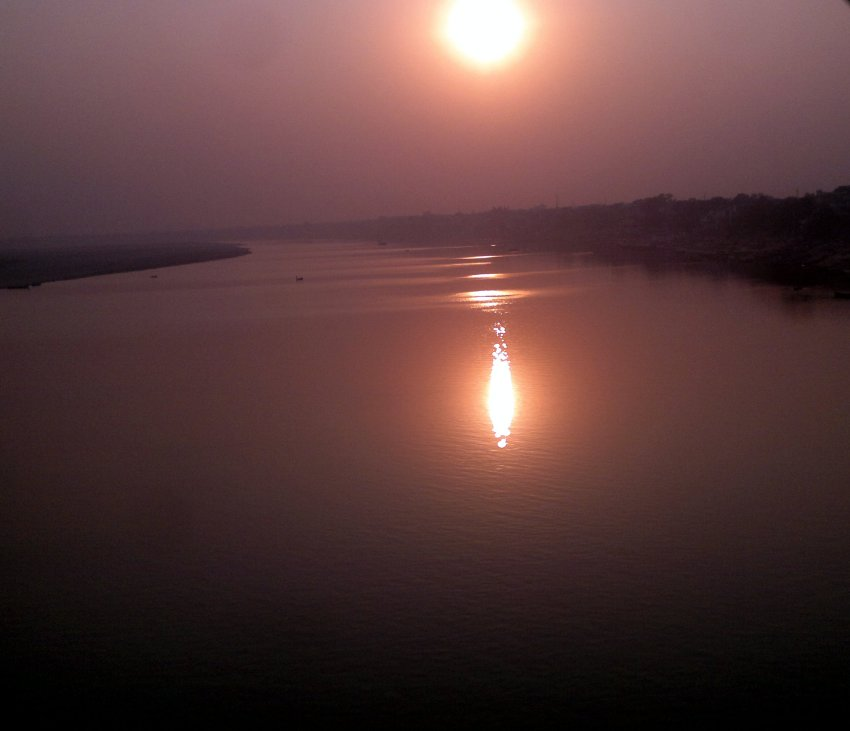 "River ""Ganges"" at Dusk @ Varanasi"